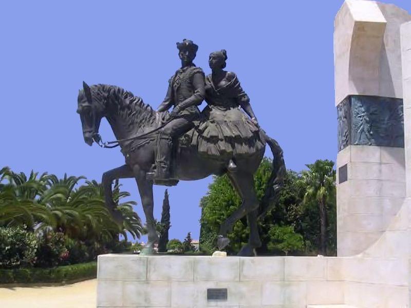 Monumento de la Feria de Mairena del Alcor.