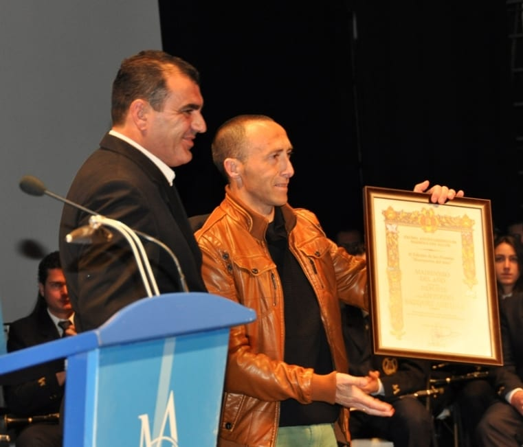 Federico Trigueros y Antoñín Vázquez.