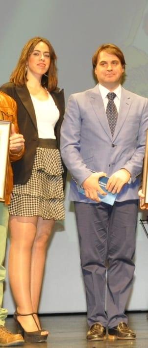 Sara Domínguez y Antonio Bautista.