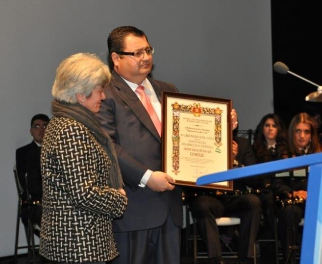 María Antúnez y Francisco Jesús López, de Comelec.