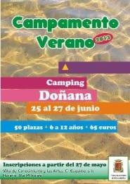 CartelCampamentoVerano2013