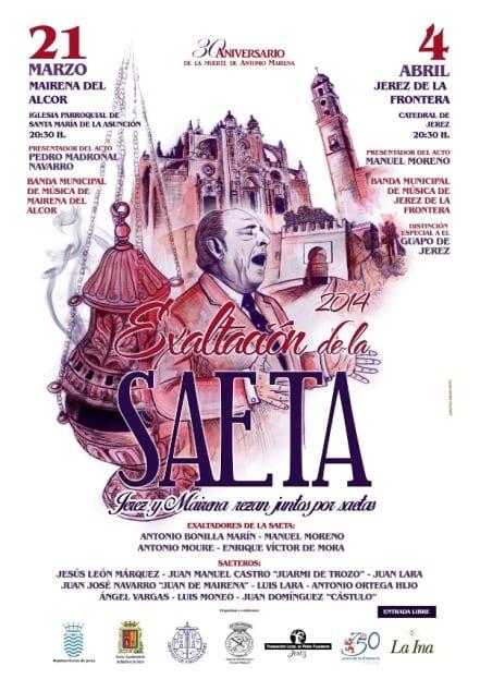 CartelExaltacionSaeta2014