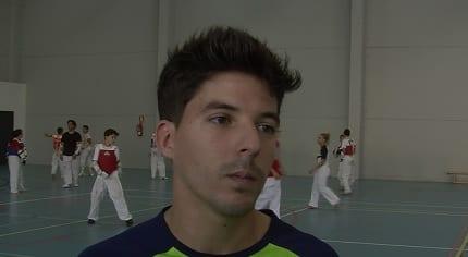 El entrenador y presidente del club TKD Mairena, Juan Luis Acosta - antoniogonzaleztaekwondo