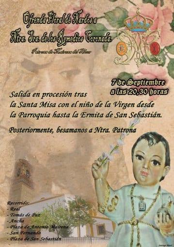 cartel ofrenda floral 2014