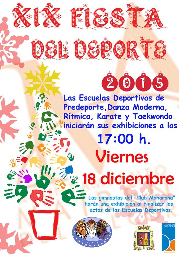 CARTEL FIESTA DEPORTE 2015