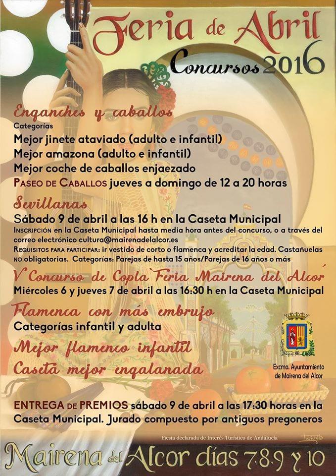 Concursos 2016 Feria Mairena del Alcor