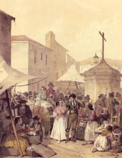 Feria de Mairena antigua