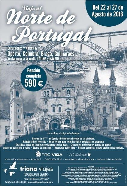 Cartel Viaje a Portugal