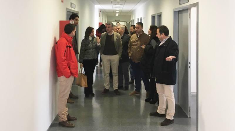 Visita institucional a las instalaciones del CARE para planificar su próxima apertura