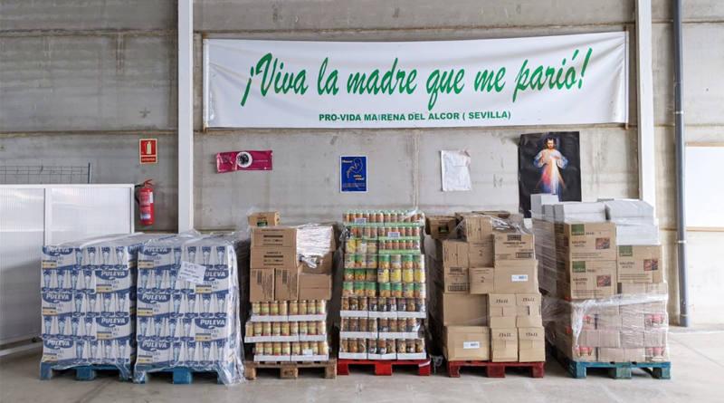 Frente al coronavirus, la asociación Pro-Vida de Mairena muestra su cara más solidaria