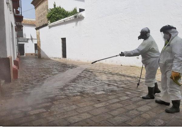 El Ayuntamiento de Carmona gratificará a los empleados municipales que han estado en primera línea contra el virus