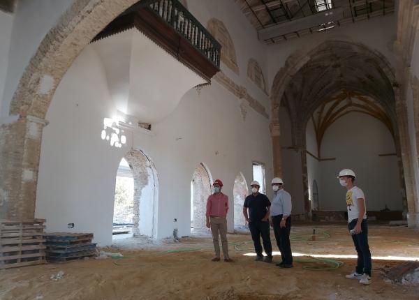 Carmona: La Iglesia de Santa Ana permitirá compatibilizar los usos de la iglesia con actividades culturales y educativas
