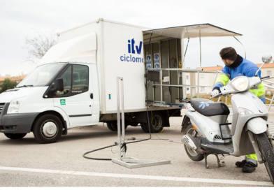Nueva cita de la unidad móvil para ciclomotores de dos ruedas