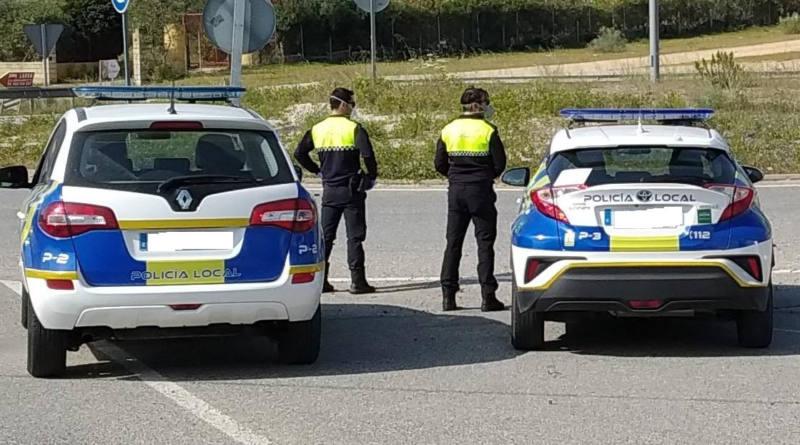 La Policía Local refuerza el control domiciliario de los positivos en Covid-19 y de los contactos estrechos