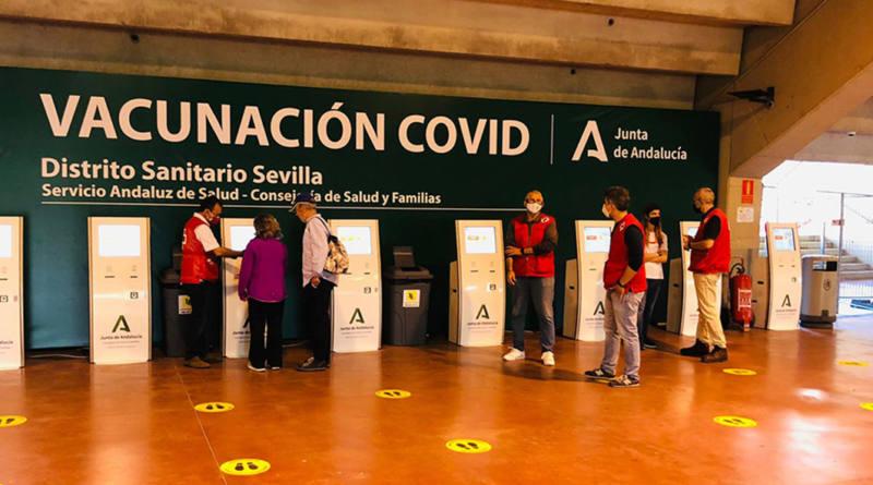 Andalucía prepara un plan de vacunación con 545 puntos y un millón de vacunas por semana