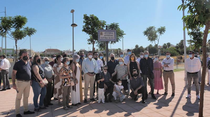 Ayuntamiento de Mairena rotula calles en el Prior como agradecimiento a esos maireneros que tanto han dado por la localidad